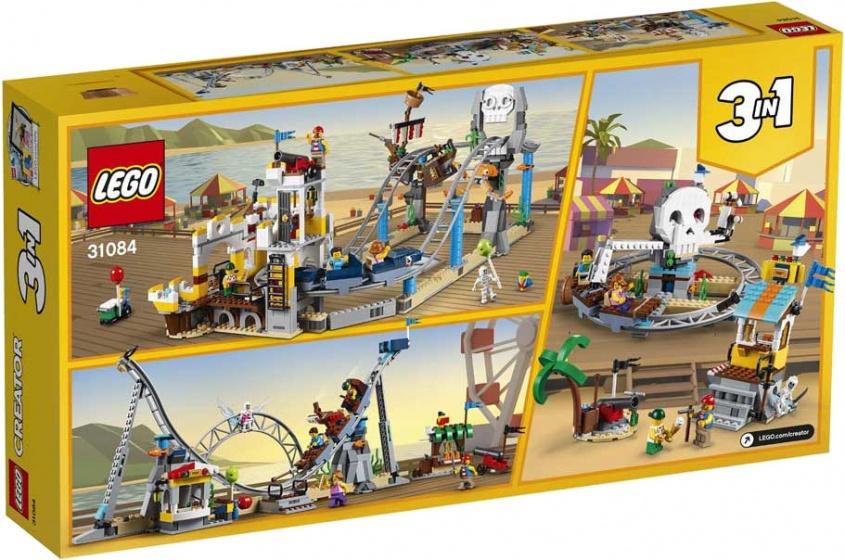 LEGO Creator: Piratenachtbaan (31084)