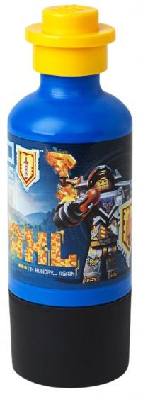 LEGO drinkfles Nexo Knights junior 400 ml blauw