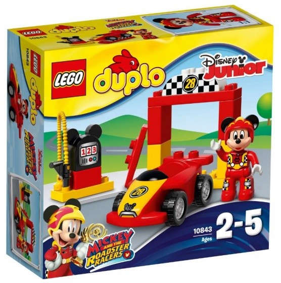 LEGO DUPLO: Disney Mickey's racewagen (10843)