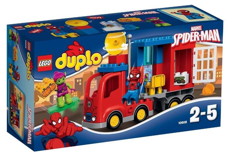LEGO Duplo: Marvel SpiderMan Spider Truck Avontuur (10608)