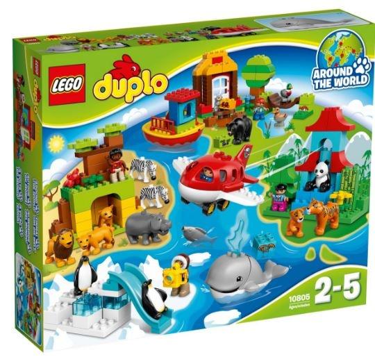 LEGO Duplo: Rondje wereld (10805)