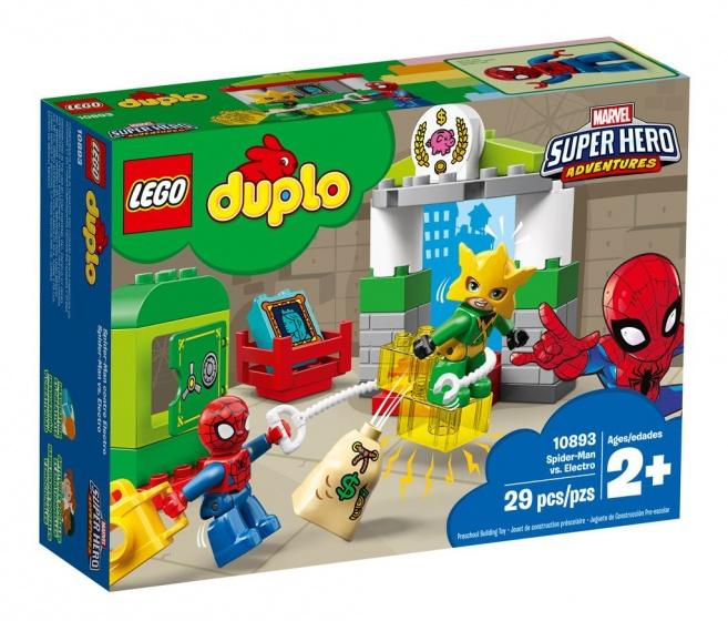 LEGO DUPLO: Spider Man vs Electro (10893)
