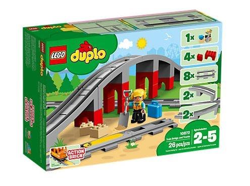 LEGO DUPLO: treinbrug met rail (10872)