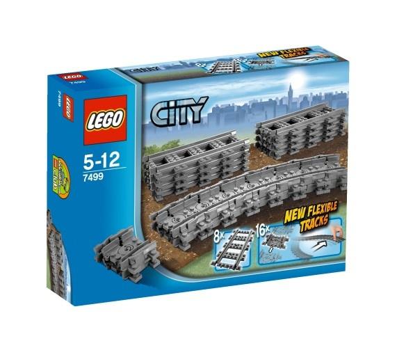 LEGO City: Flexibele Rails (7499)