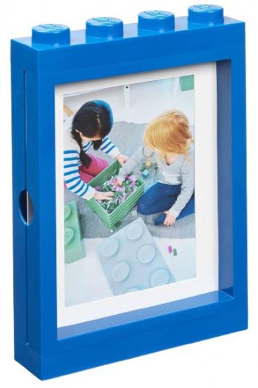 LEGO fotolijstje 26,8 x 19,3 cm polypropyleen blauw
