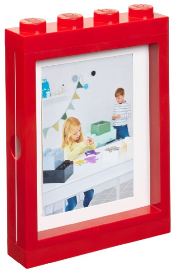 LEGO fotolijstje 26,8 x 19,3 cm polypropyleen rood