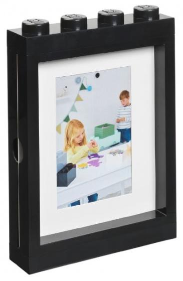 LEGO fotolijstje 26,8 x 19,3 cm polypropyleen zwart