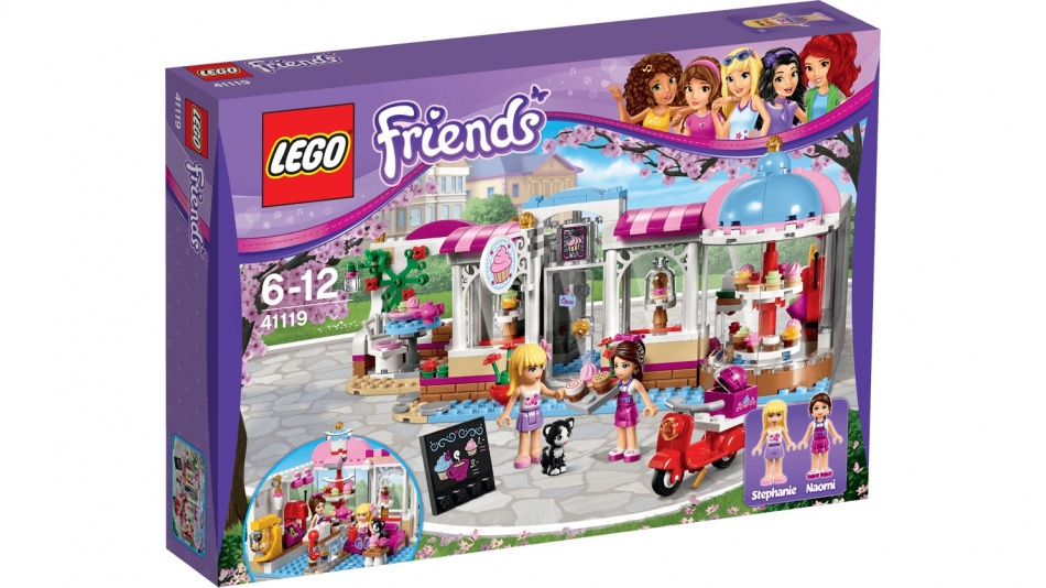 LEGO Friends: Cupcake Cafe (41119)