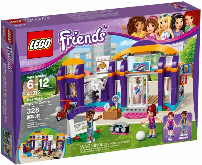 LEGO Friends: Sporthal (41312)