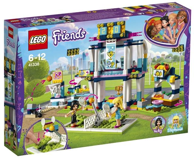 LEGO Friends: Sportstad (41338)