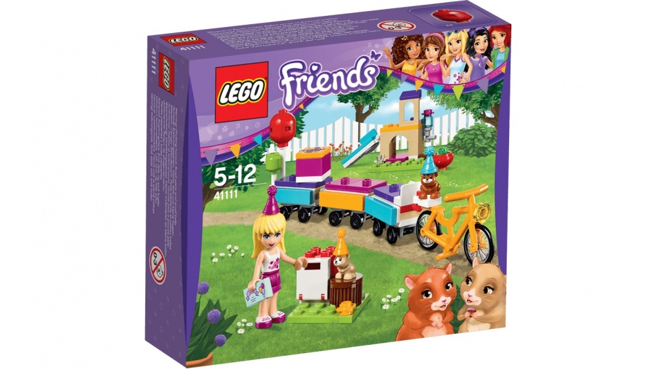 LEGO Friendse: Feest Trein (41111 )