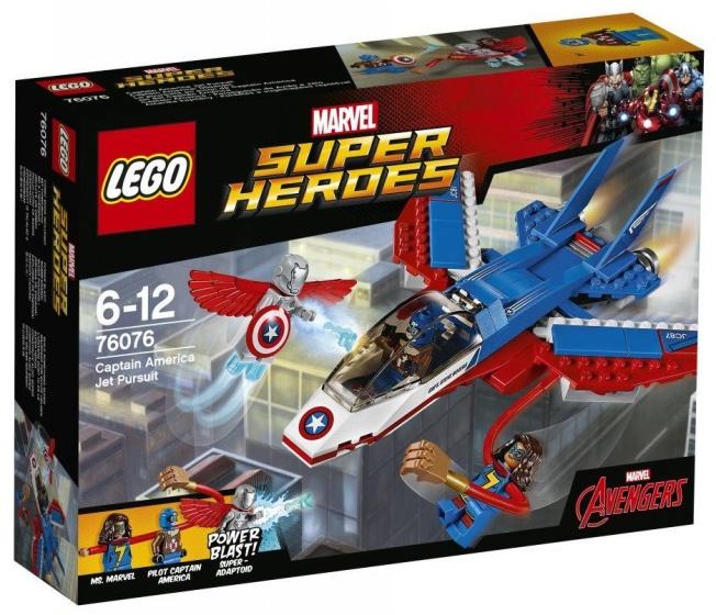 LEGO Heroes: Captain America (76076)