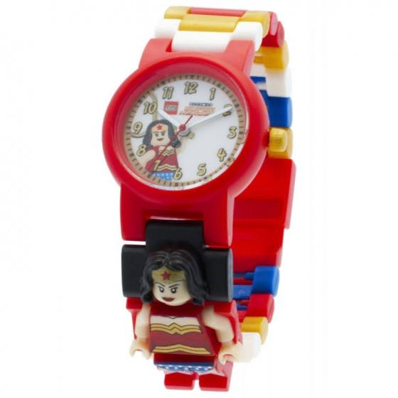 LEGO Heroes: Wonder Woman horloge rood
