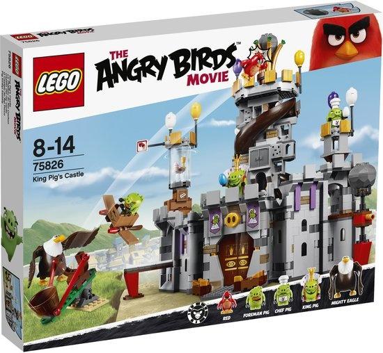 LEGO Angry Birds: Het kasteel van koning Pig (75826)