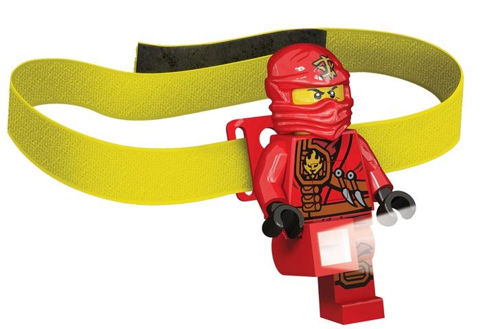 LEGO hoofdlamp Ninjago Kai 7 cm
