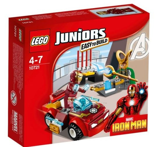 LEGO Juniors: Iron man (10721)