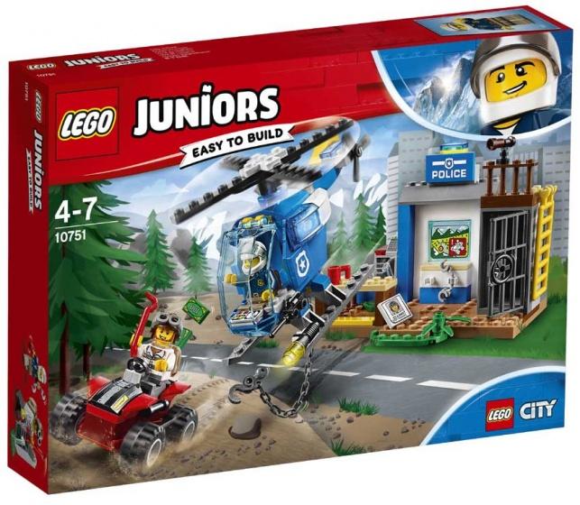 Lego 10751 Juniors Achtervolg.