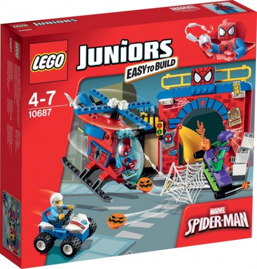 LEGO Juniors: Spider man (10687)