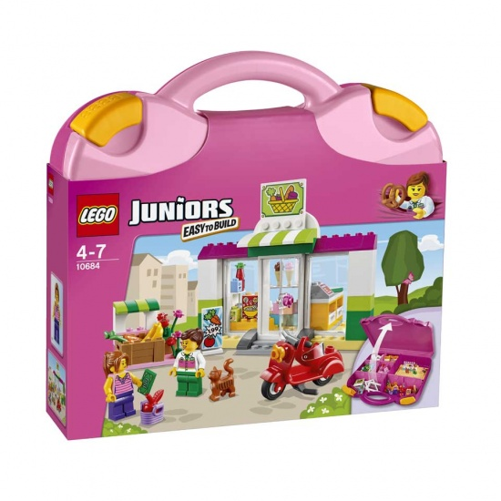 LEGO Juniors: Supermarkt Koffer (10684)