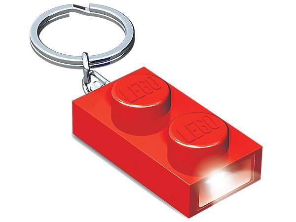LEGO LED sleutelhanger rood
