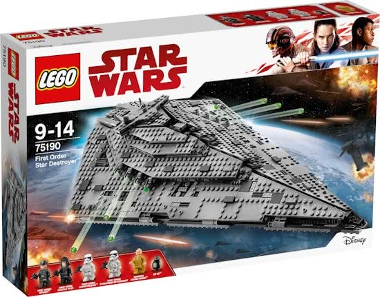 LEGO Lego Star Wars Destroyer BB 8(75190 )