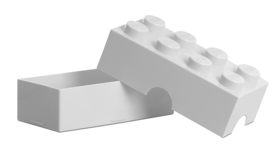 LEGO broodtrommel 8 wit