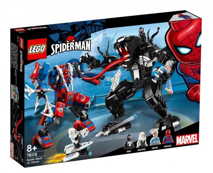 LEGO Marvel: Spider Mecha vs Venom (76115)