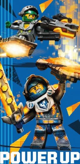 LEGO Nexo Knights : badlaken 70 x 140 cm