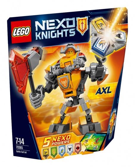 LEGO Nexo Knights Axl (70365)