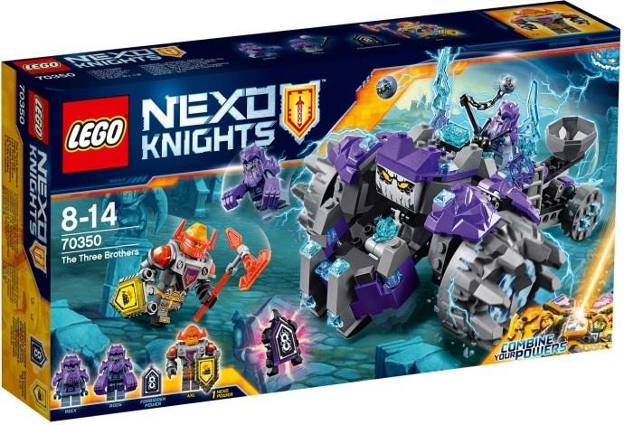 LEGO Nexo Knights: De drie broers (70350)