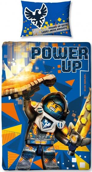 Nexo Knights Power Dekbedovertrek Eenpersoons 135 x 200 cm