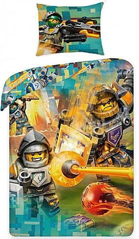 LEGO Nexo Knights dekbedovertrek 140 x 200 cm