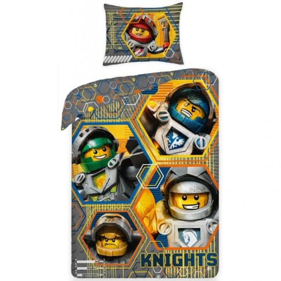 LEGO Nexo Knights hero dekbedovertrek 140 x 200 cm