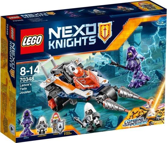 LEGO Nexo Knights: Lances Dubbele Jouster (70348)