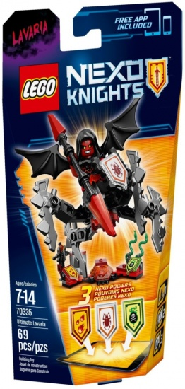 LEGO Nexo Knights: Lavaria (70335)