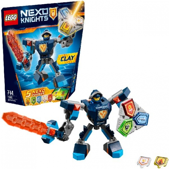 LEGO Nexo Knights Strijdharnas Clay (70362)