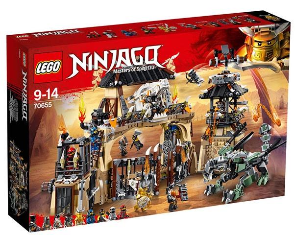 LEGO Ninjago: Drakenkuil (70655)