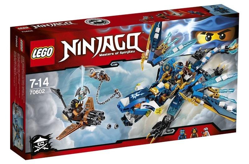 LEGO Ninjago: Jay's draak (70602)
