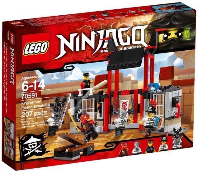 LEGO Ninjago: Kryptarium Gevangenis Ontsnapping (70591)