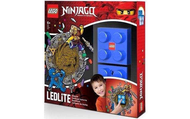 LEGO Ninjago: nachtlamp Jay blauw