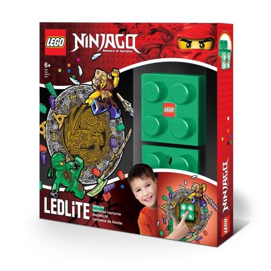 LEGO Ninjago: nachtlamp Lloyd groen