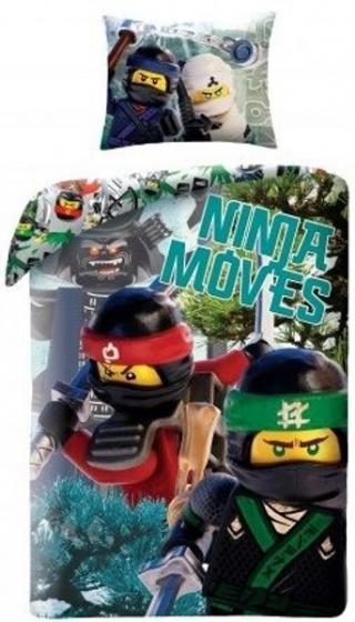 LEGO Ninjago Ninja moves dekbedovertrek 140 x 200 cm