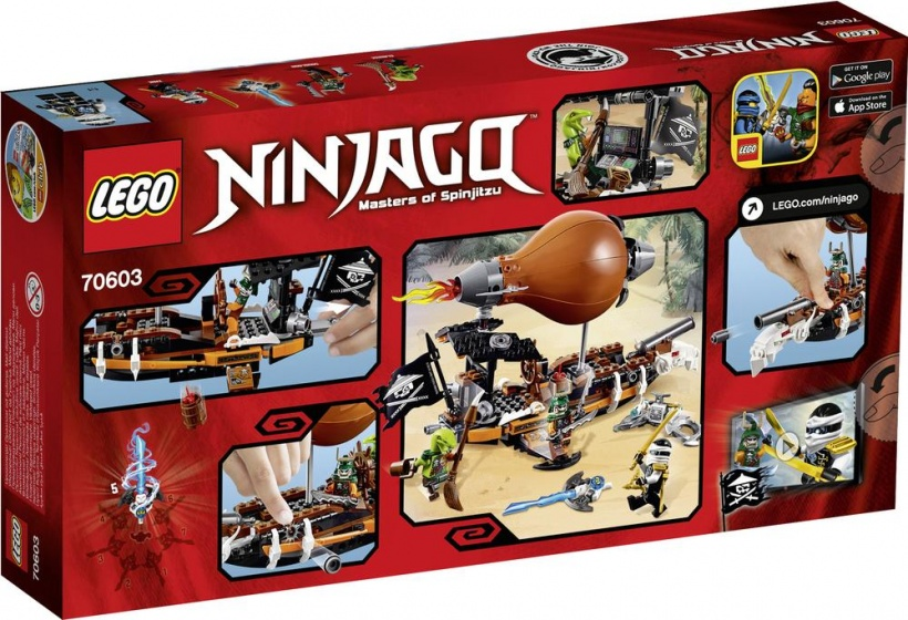 LEGO Ninjago Zeppelin (70603)