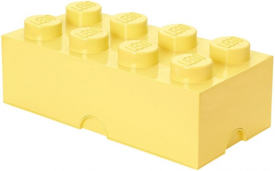 Lego Opbergbox Brick 4 Geel 25 X 50 X 18 Cm