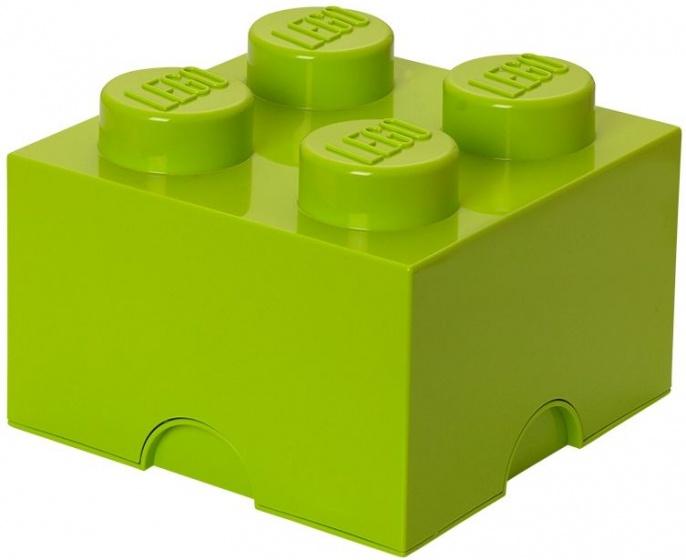 Lego Opbergbox Brick 4 Groen 25 X 25 X 18 Cm