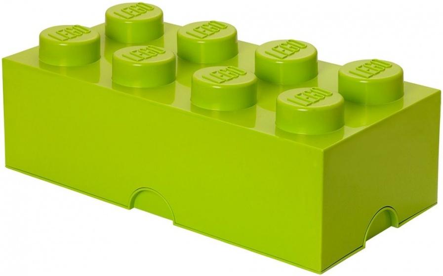 Lego Opbergbox Brick 8 Groen 25 X 50 X 18 Cm