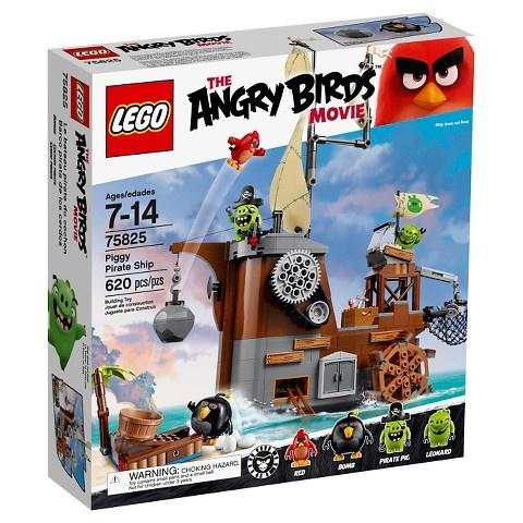 LEGO Angry Birds: Piggy Piratenschip (75825)