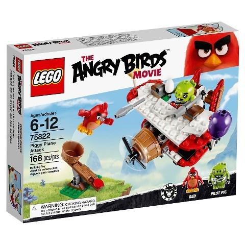 LEGO Angry Birds: Piggy Vliegtuig aanval (75822)