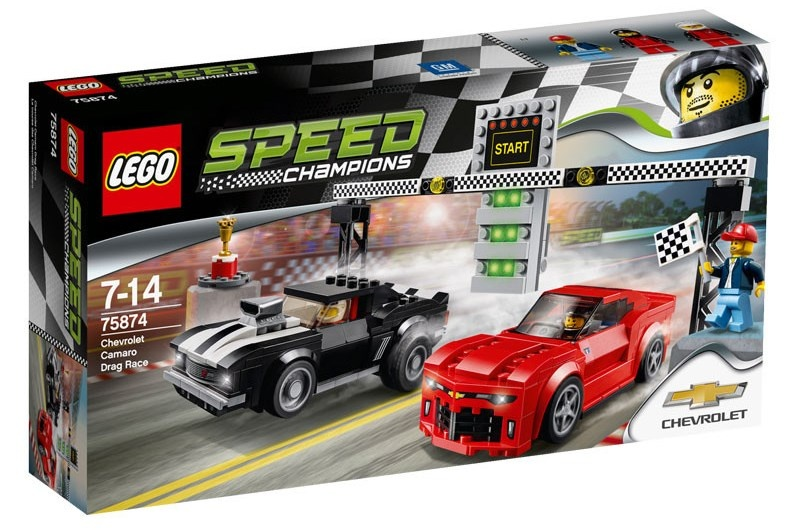 LEGO Speed Champions: Chevrolet Camaro dragrace (75874)