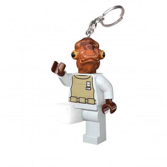LEGO Star Wars: Admiral Ackbar sleutelhanger 7 cm